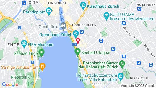 Romantik Hotel Europe Map