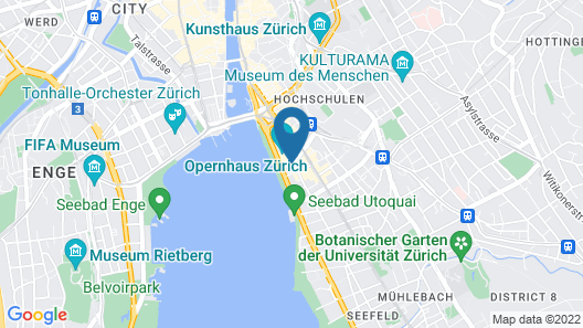 Small Luxury Hotel Ambassador Zürich Map