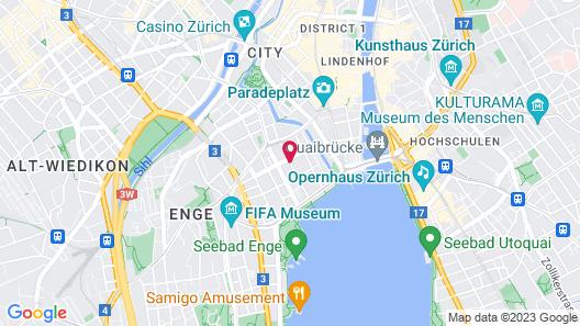 Park Hyatt Zurich Map