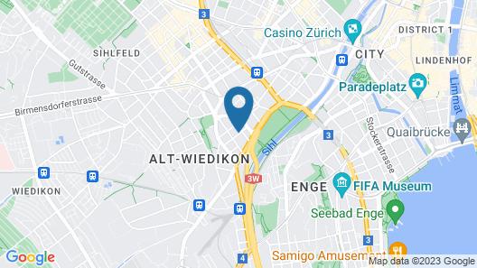 Apartments Swiss Star Sihlfeld Map