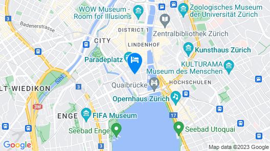 Le Bijou Bahnhofstrasse Paradeplatz Map