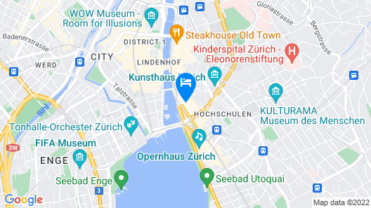 Hotel California Map