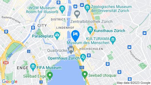 Hotel Rössli Map