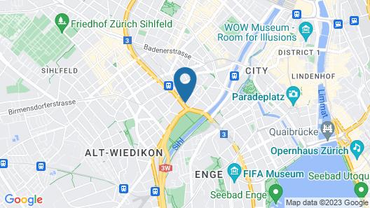 Zurich Furnished Homes Map