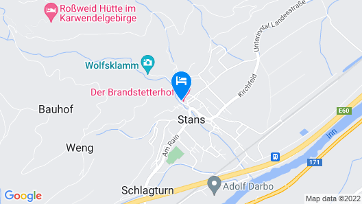 Hotel Der Brandstetterhof - Adults only Map