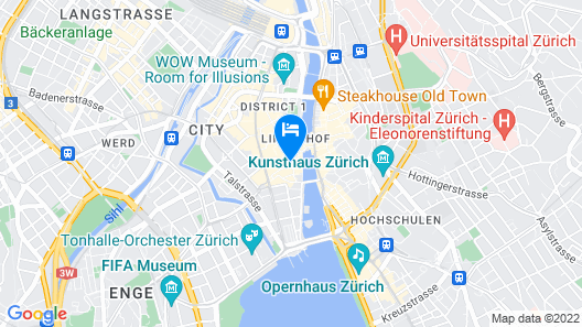 Paradeplatz Apartment by Airhome Map