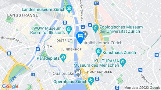 Boutique Hotel Wellenberg Map