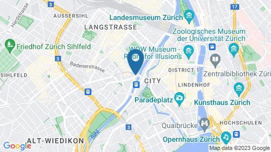 Hotel Restaurant Helvetia Map