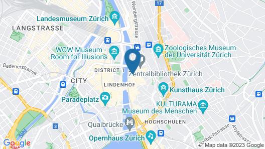 Hotel Hirschen Map