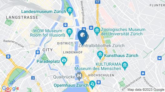 Hotel PLATZHIRSCH Map