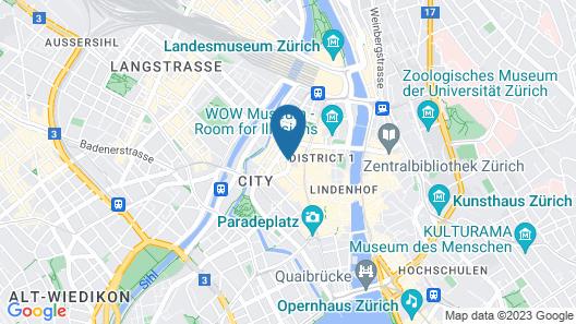 Sorell Hotel Seidenhof Map