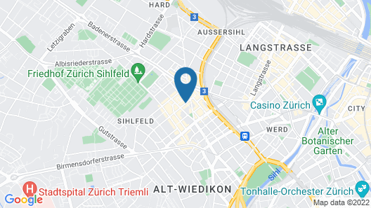 Swiss Star Apartments District 3 Map