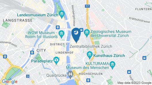 Hotel Scheuble Map