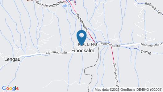 Tannenbaum Lodge Map