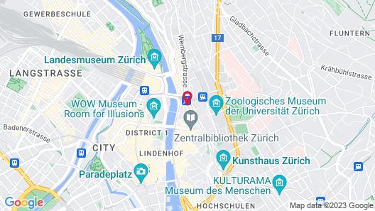 Sorell Hotel Rütli Map