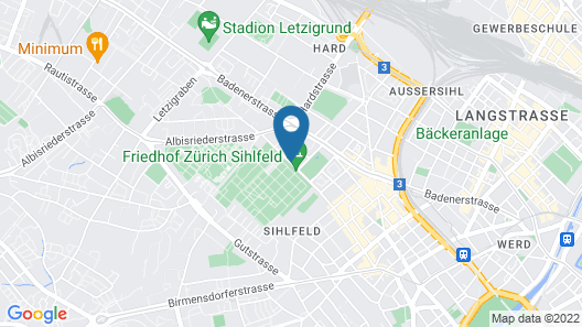 Swiss Star Apartments Aemtlerstrasse Map
