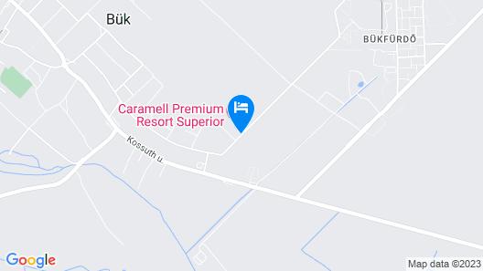 Caramell Premium Resort **** Superior Map