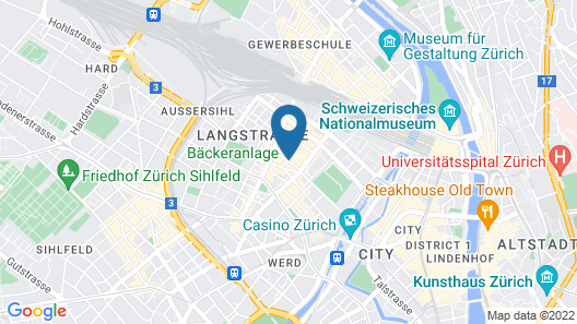 Swiss Star Guesthouse District 4 Map