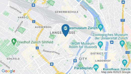 Swiss Star Apartments Center Map