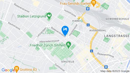 Mercure Stoller Zurich Map