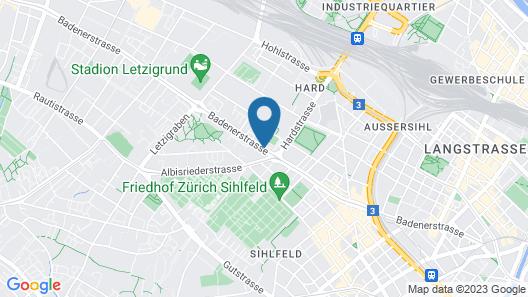 Apartments Swiss Star Marc Aurel Map