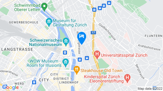 Leoneck Swiss Hotel Map