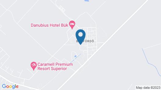 Hunguest Hotel Repce Map