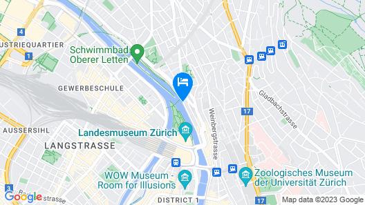 Zurich Marriott Hotel Map