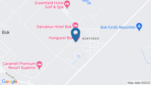 Hunguest Hotel Répce Gold Map