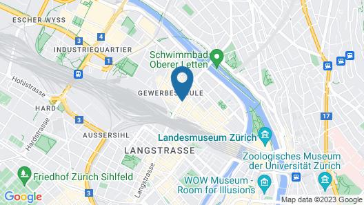 Gasthaus 210 Map