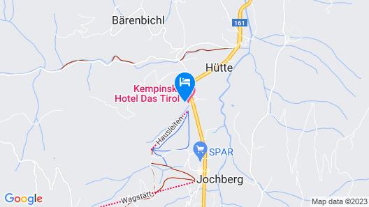 Kempinski Hotel Das Tirol Map