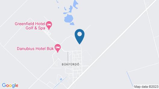 Főnix Hotel Bükfürdő Map