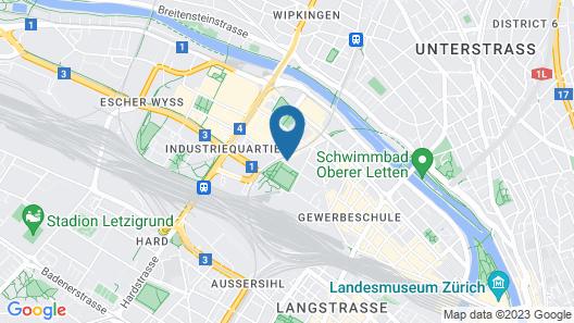Viadukt Apartments Map