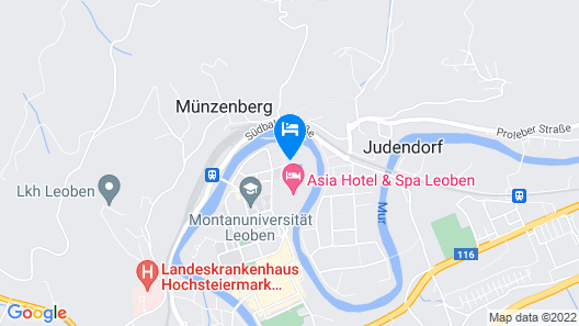 Falkensteiner Hotel & Asia Spa Leoben Map
