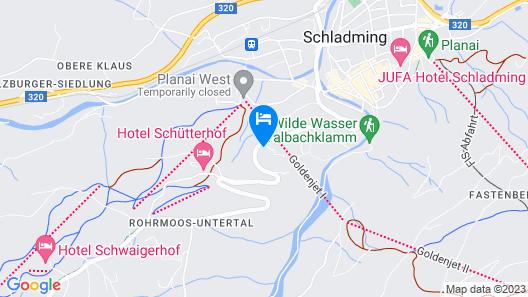 Landhaus Hubertus - Hotel Garni Map