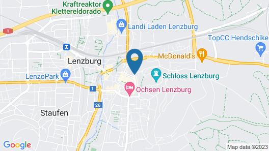 Mercure Lenzburg Krone Map