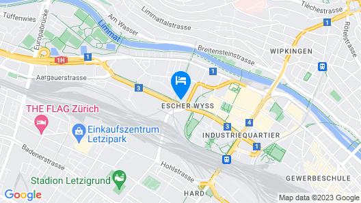 Penthouse With Unique Zurich View Map