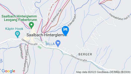 Hotel Vorderronach Map