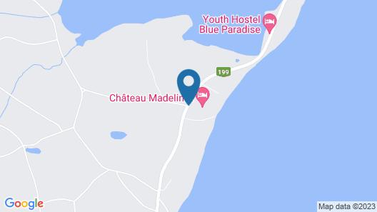 Chateau Madelinot Map