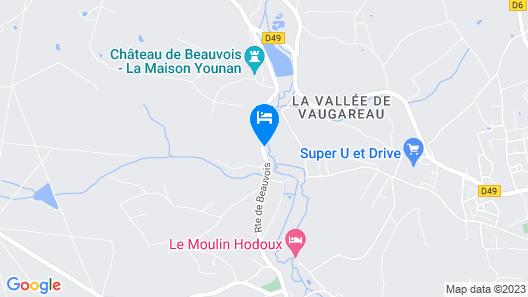 Château de Beauvois - Younan Collection Map