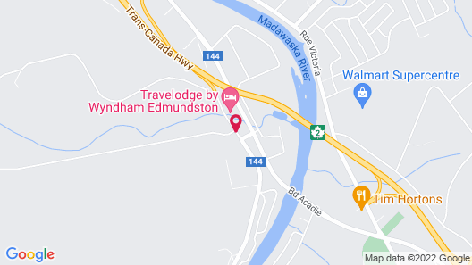 Travelodge by Wyndham Edmundston Map