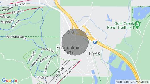 Cozy Snoqualmie Pass Home Near Ski Resort & Hiking Map