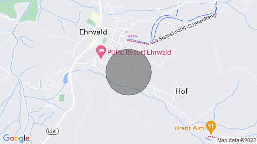 1 Bedroom Accommodation in Ehrwald Map