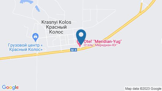 Hotel Meridian-Yug Map