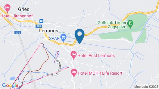 Gästehaus Alpenblick Lermoos Map