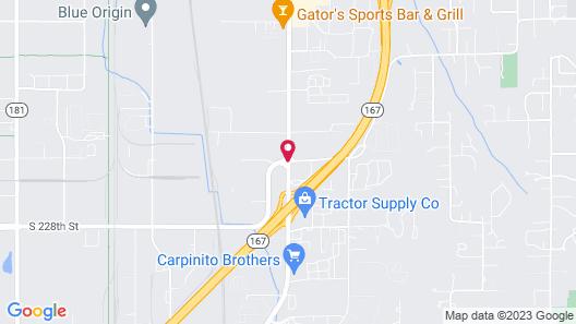 Days Inn by Wyndham Kent 84th Ave Map