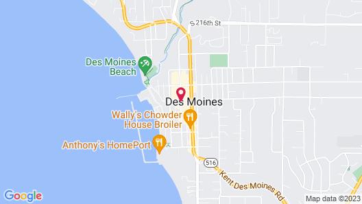 Marina Inn Map