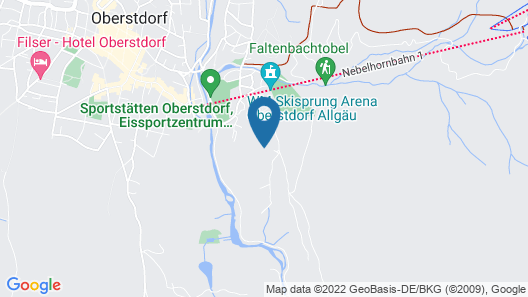 Hotel Kühberg Map