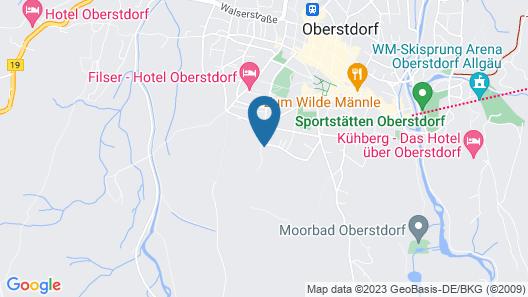 Hotel Fuggerhof Map