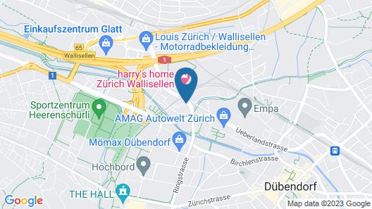 Hotel ZwiBack Map